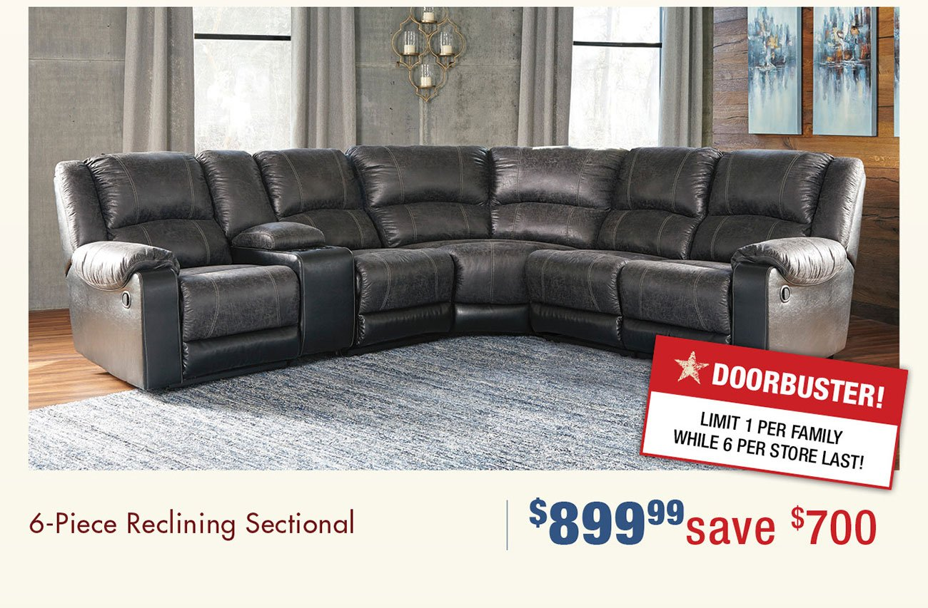 6-piece-reclining-sectional
