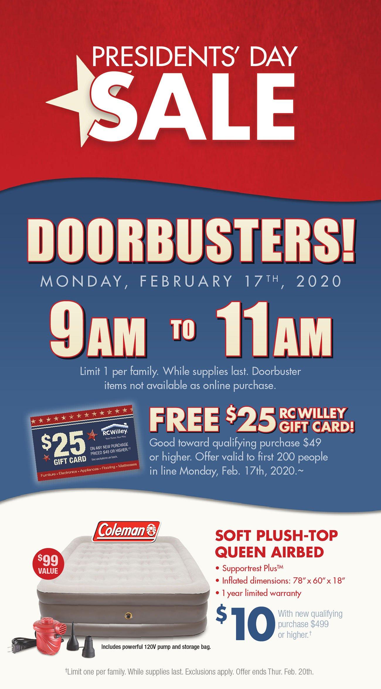 Presidents-day-doorbusters