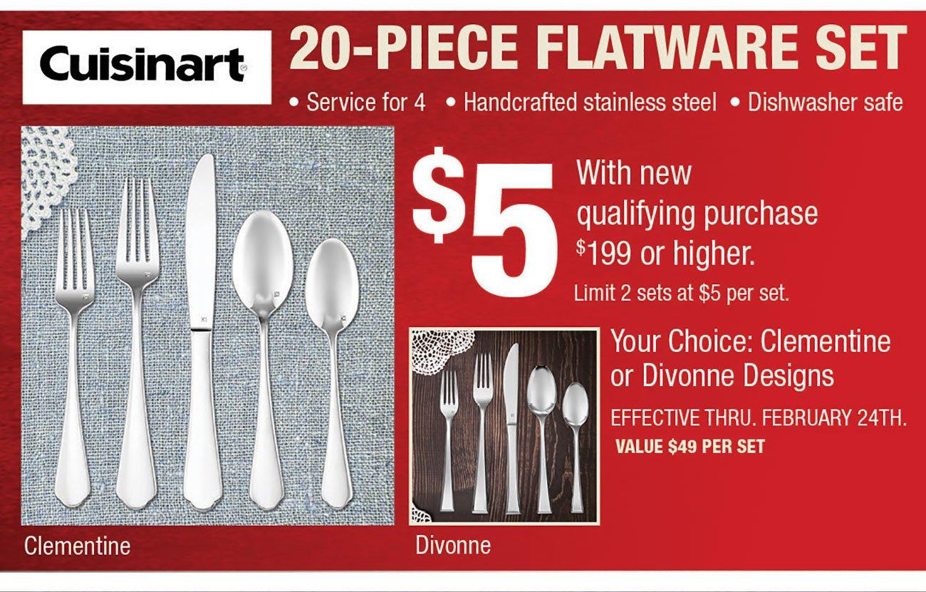 Cuisinart-Flatware-Set