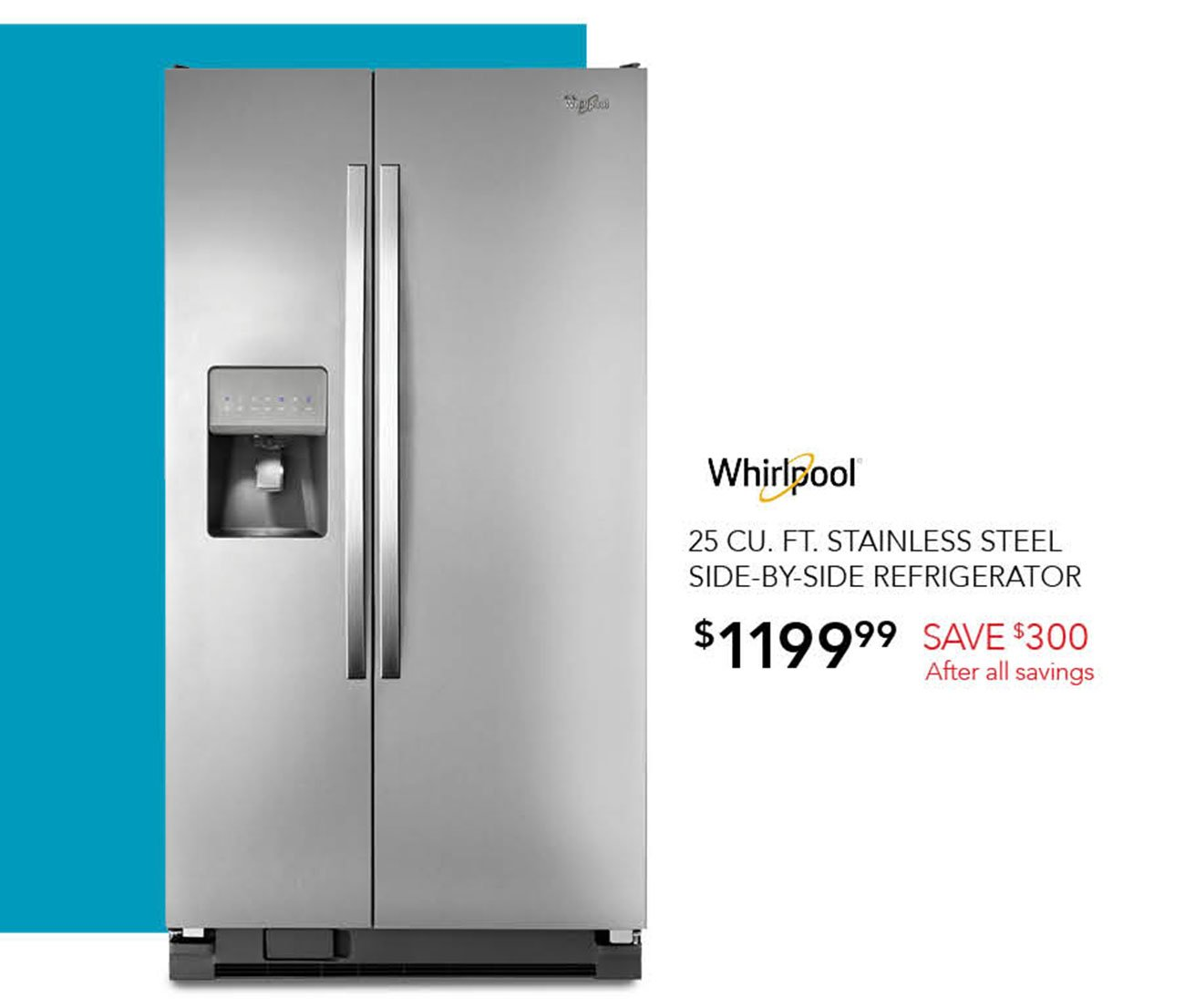 Whirlpool-side-by-side-refrigerator