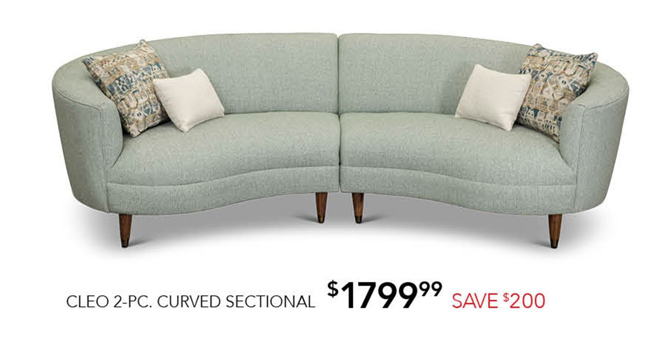 Cleo-curved-sectional