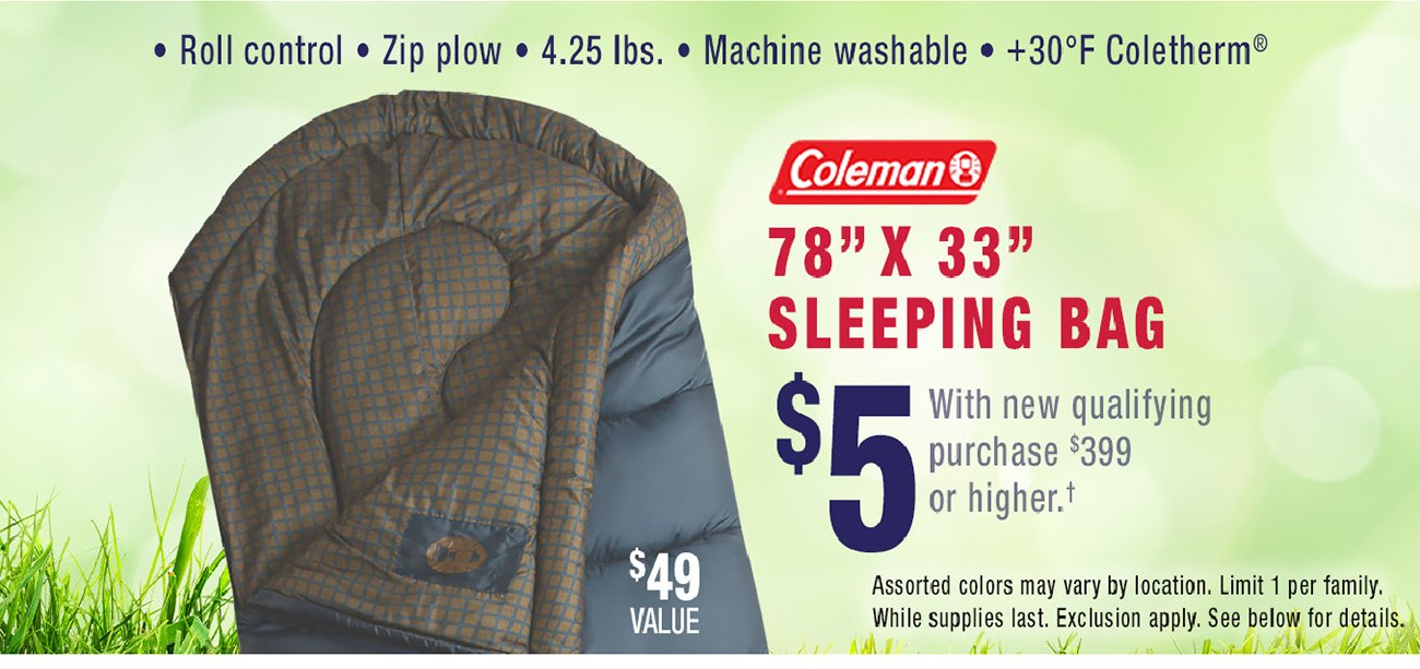 Coleman-sleeping-bag