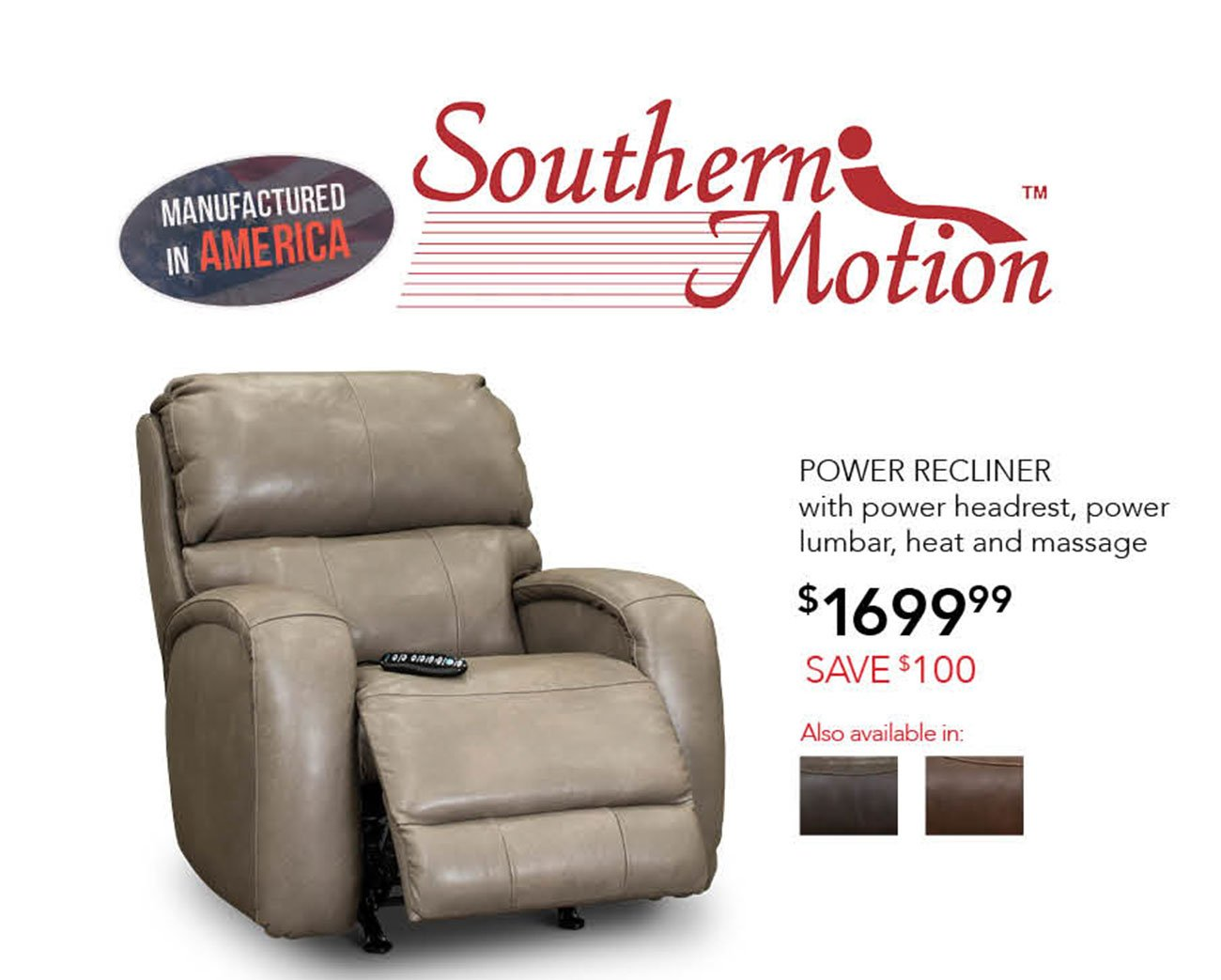 Southern-motion-power-recliner
