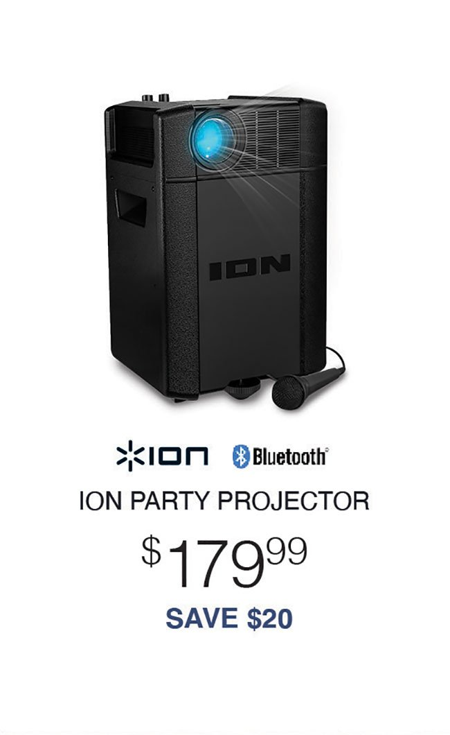 ION-Party-Projector