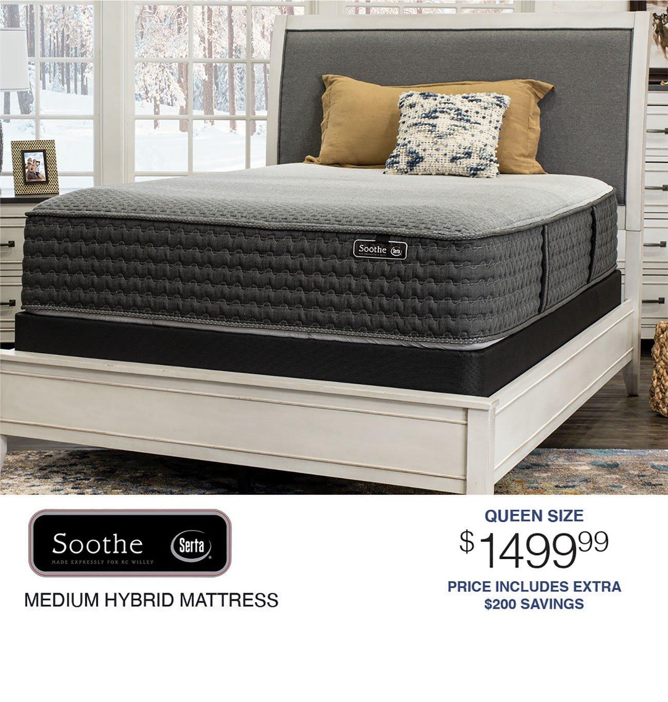 Serta-Soothe-Medium-Hybrid-Mattress
