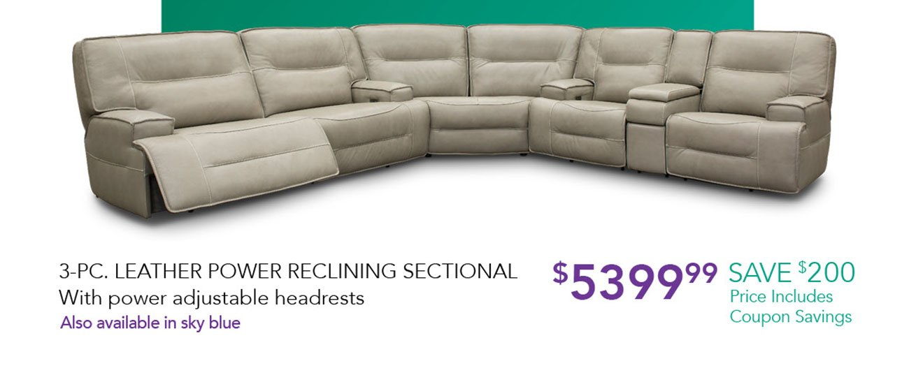 Leather-reclining-sectional