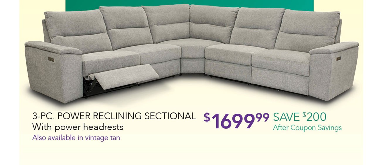 Power-reclining-sectional