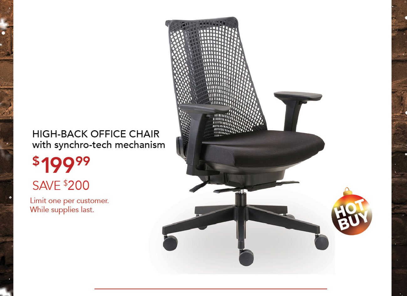 High-back-office-chair