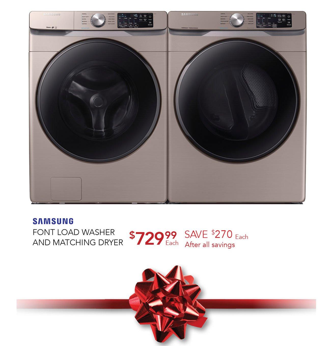 Samsung-front-load-washer-dryer