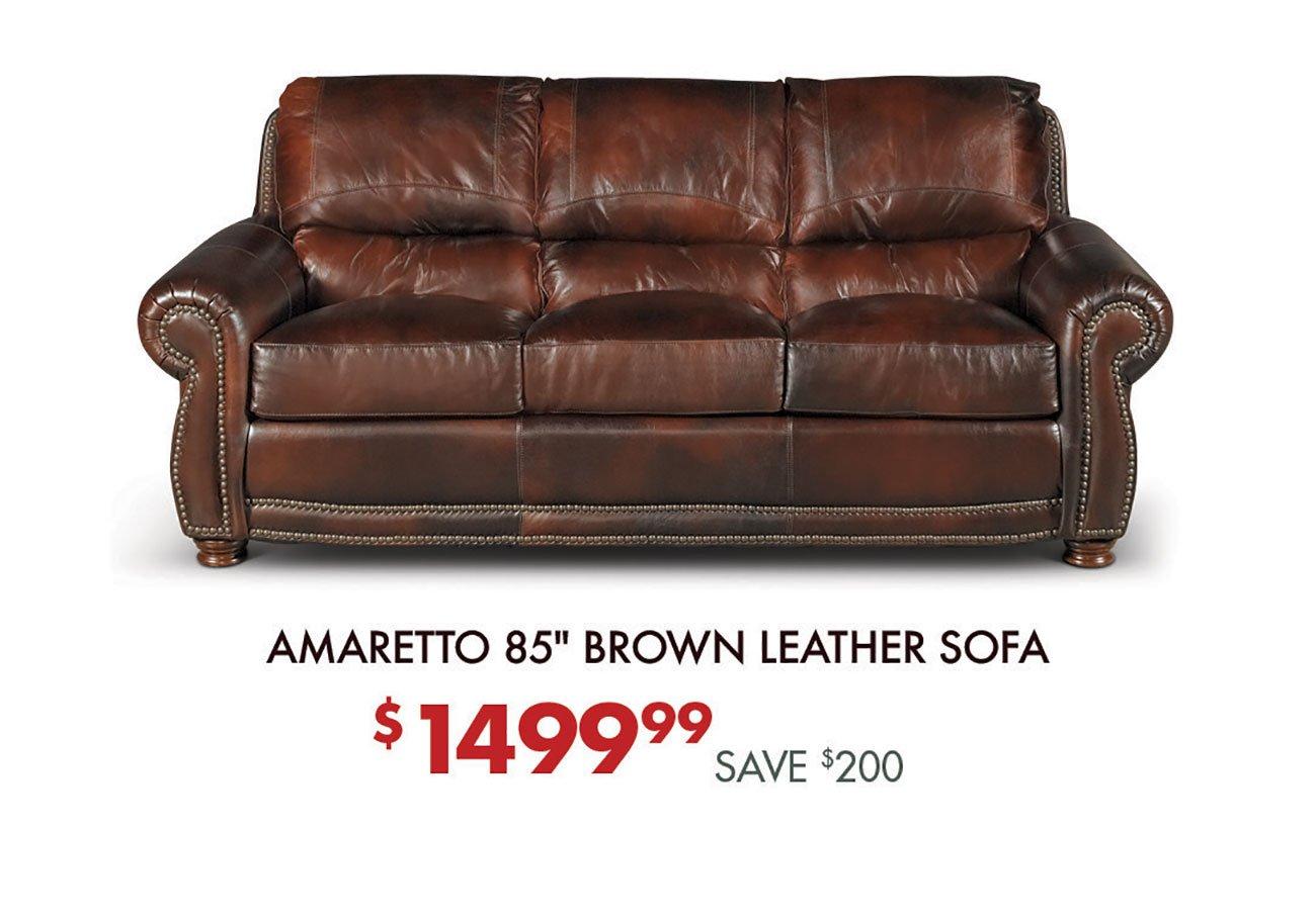 Amaretto-Brown-Leather-Sofa