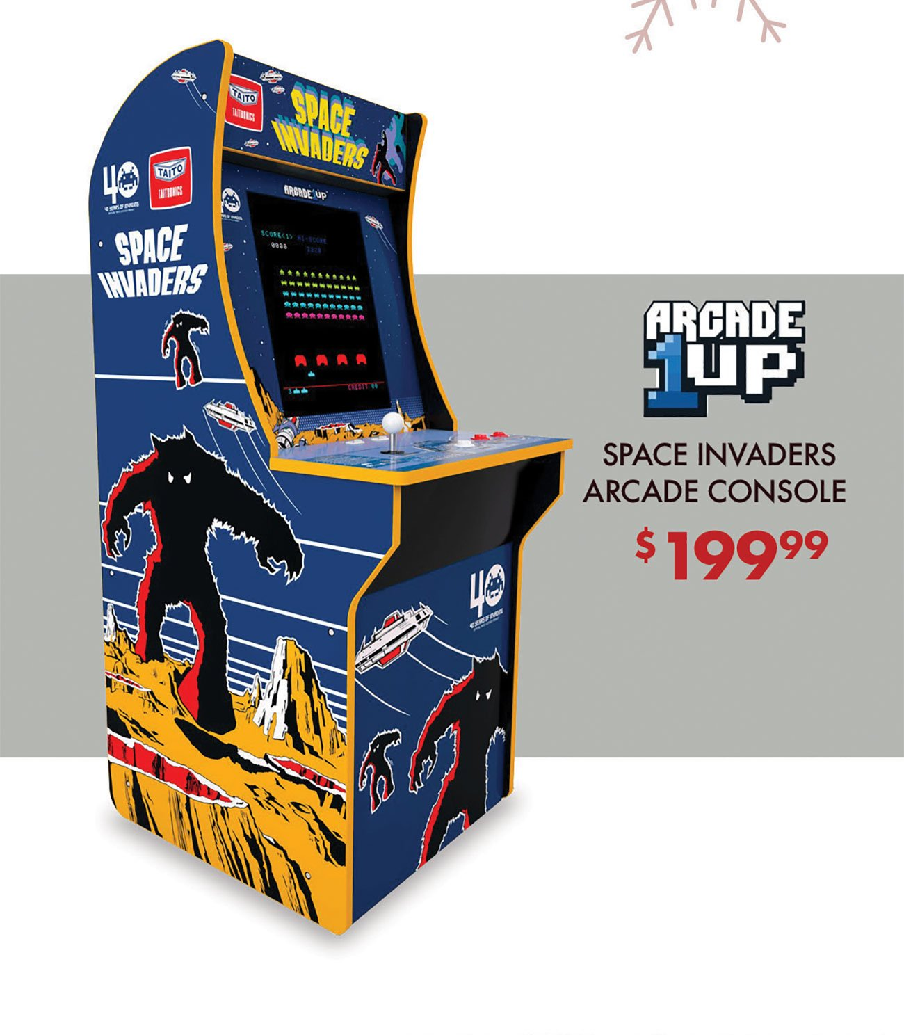 Arcade-1Up-Space-Invaders-Console