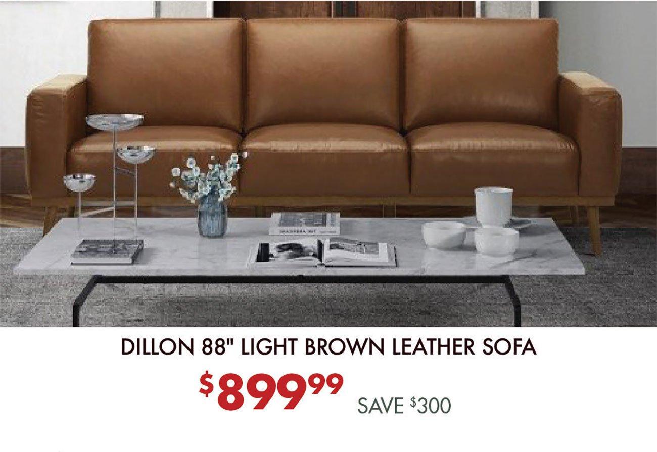 Dillon-Light-Brown-Leather-Sofa