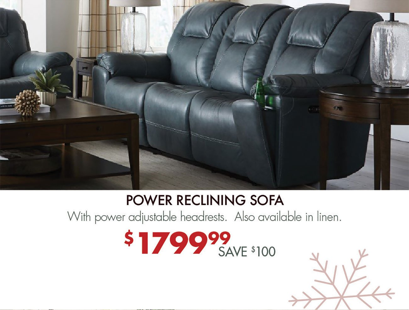 Power-Reclining-Sofa-Blue-Leather
