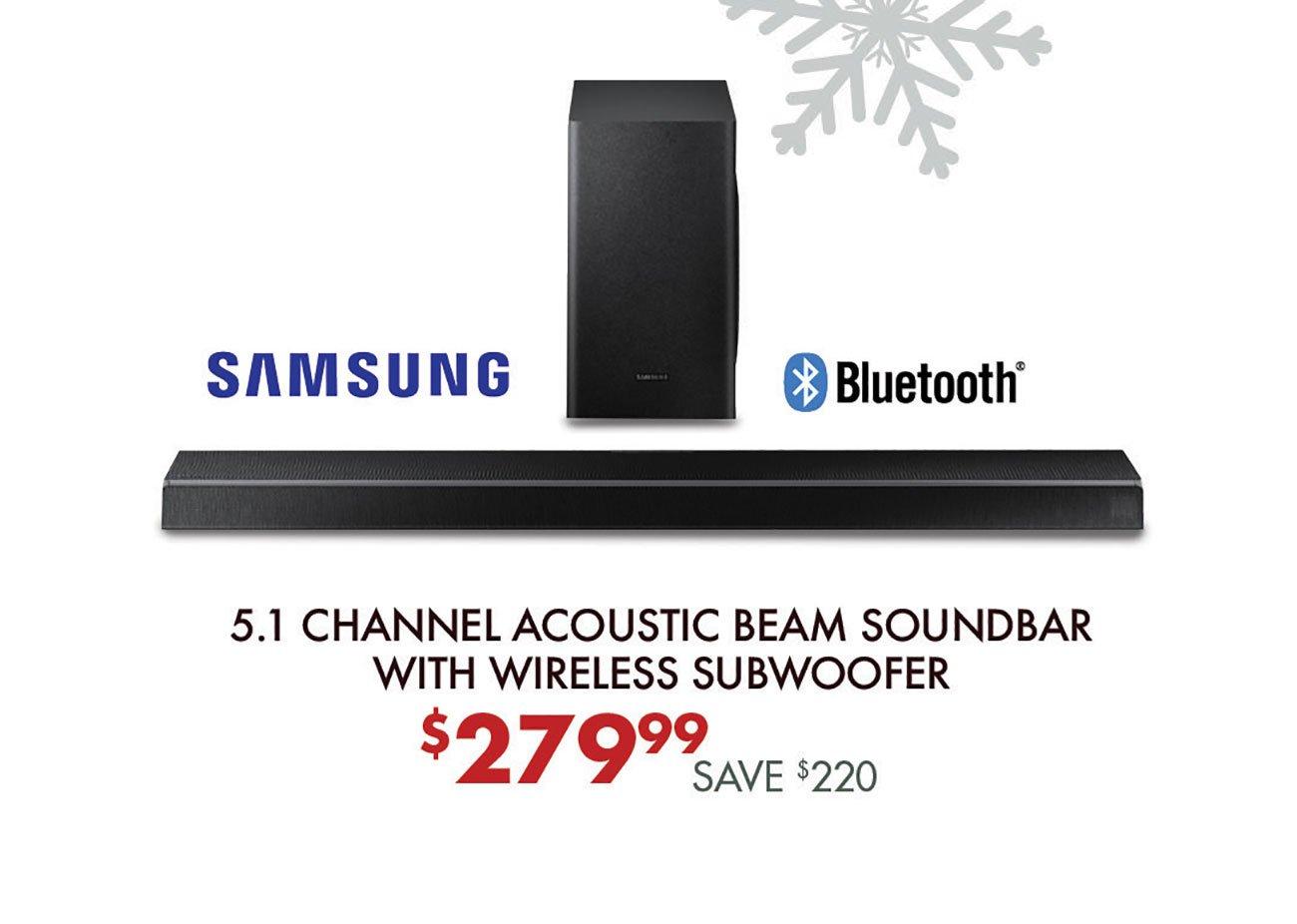 Samsung-Acoustic-Beam-Soundbar-Subwoofer