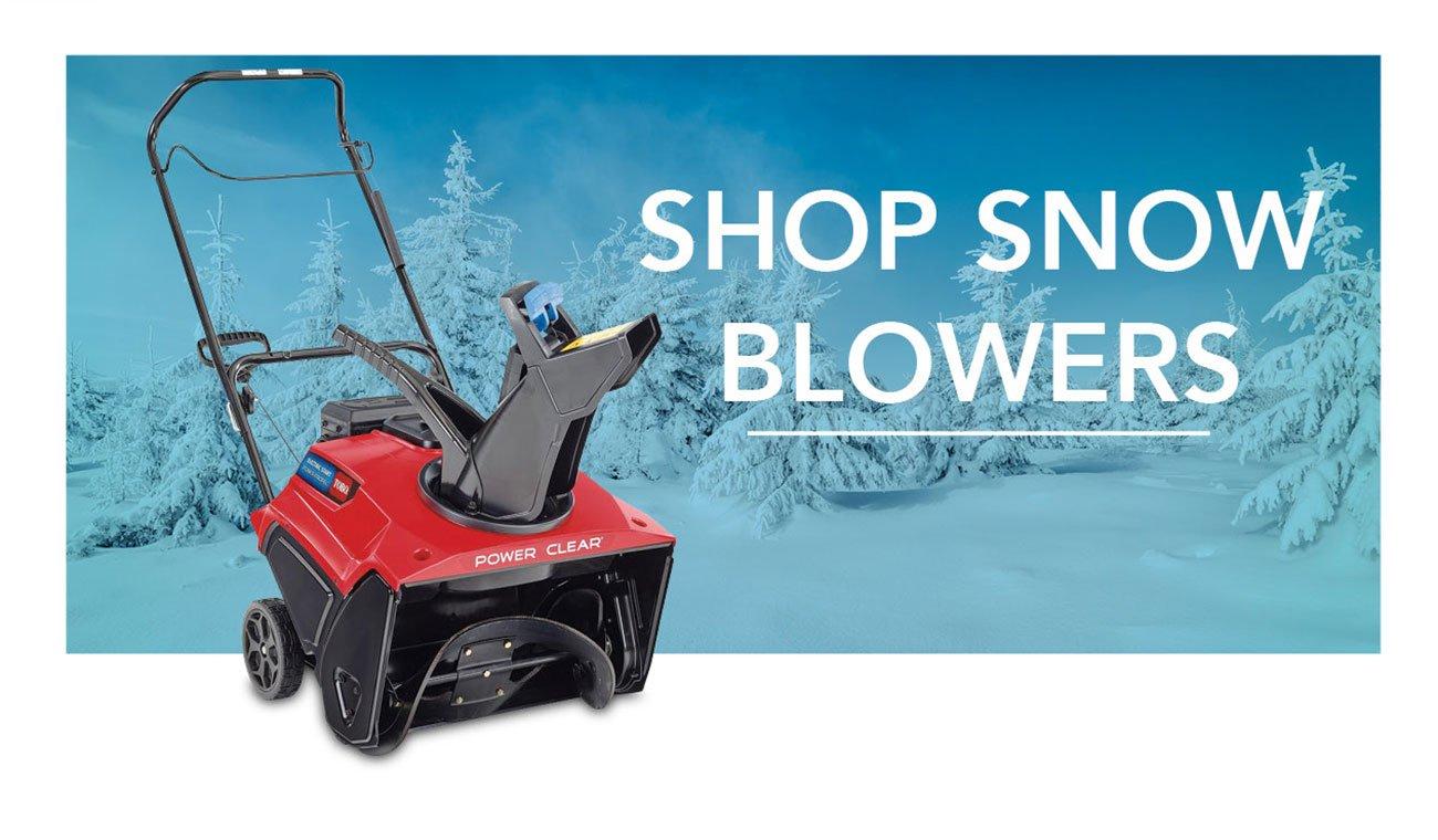 Shop-snowblowers