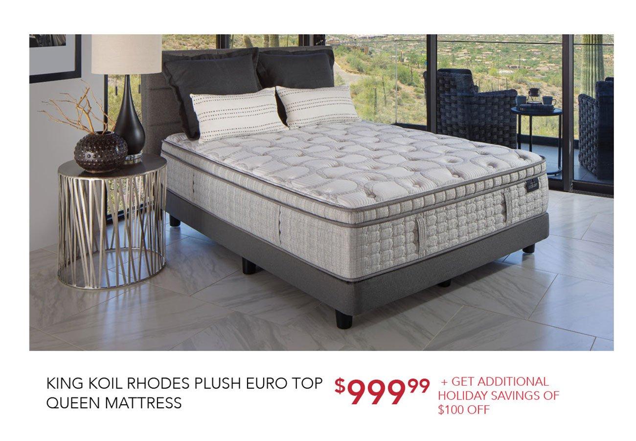 king-koil-queen-mattress