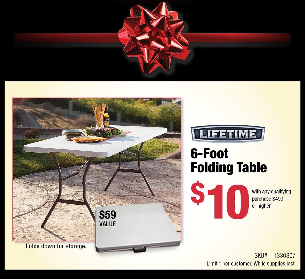 Lifetime-table