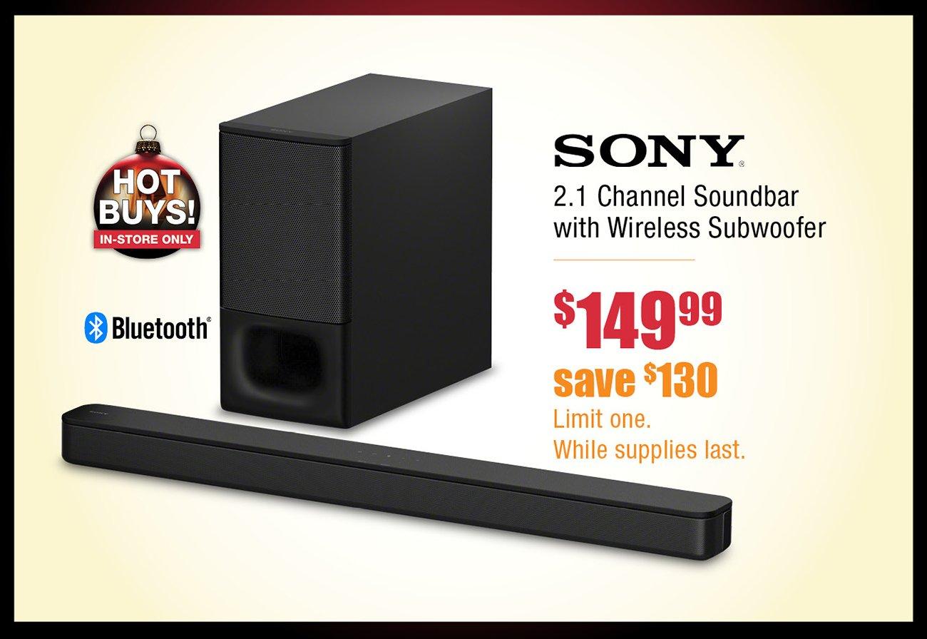 Sony-soundbar