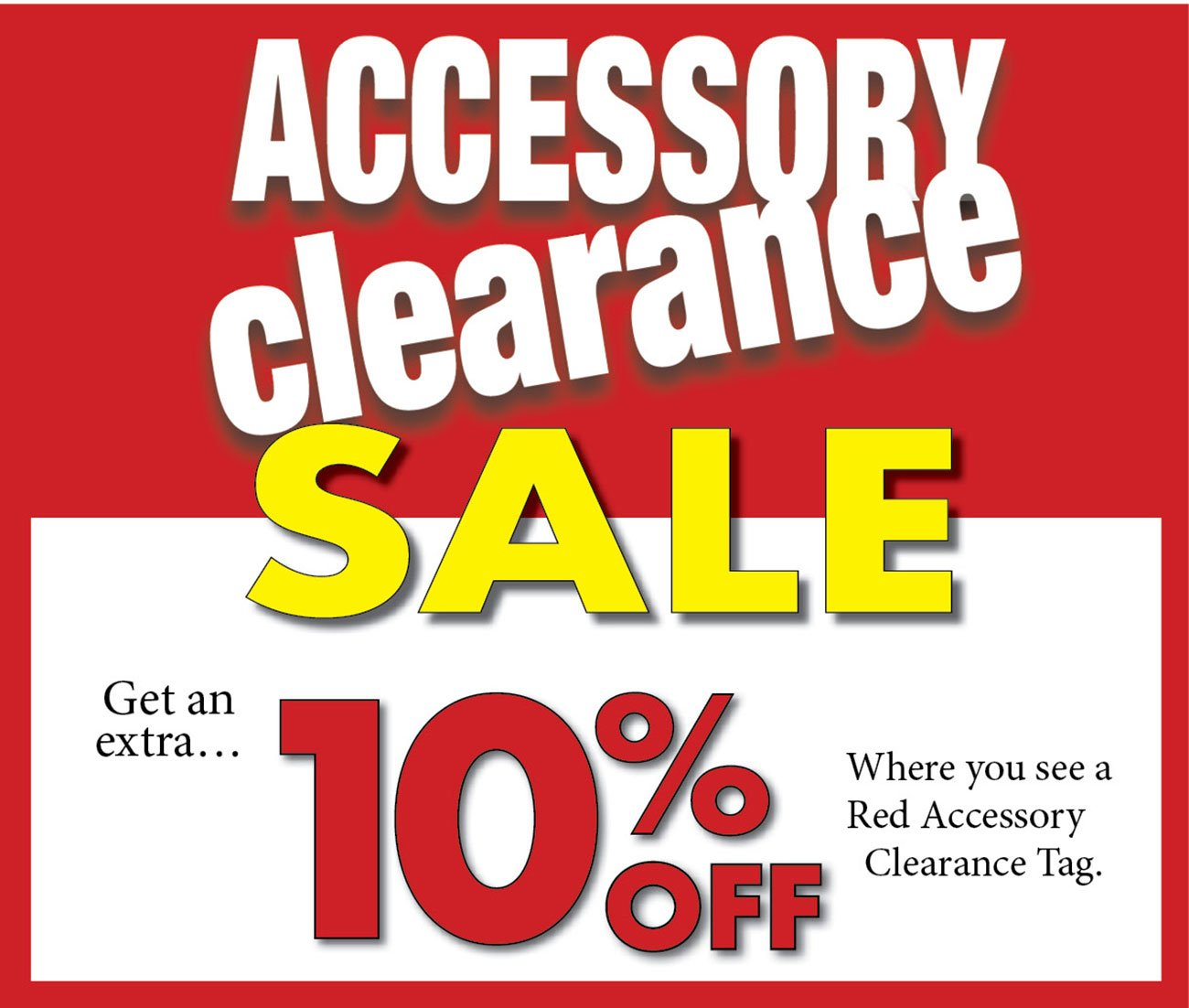 Accessory-clearance-sale