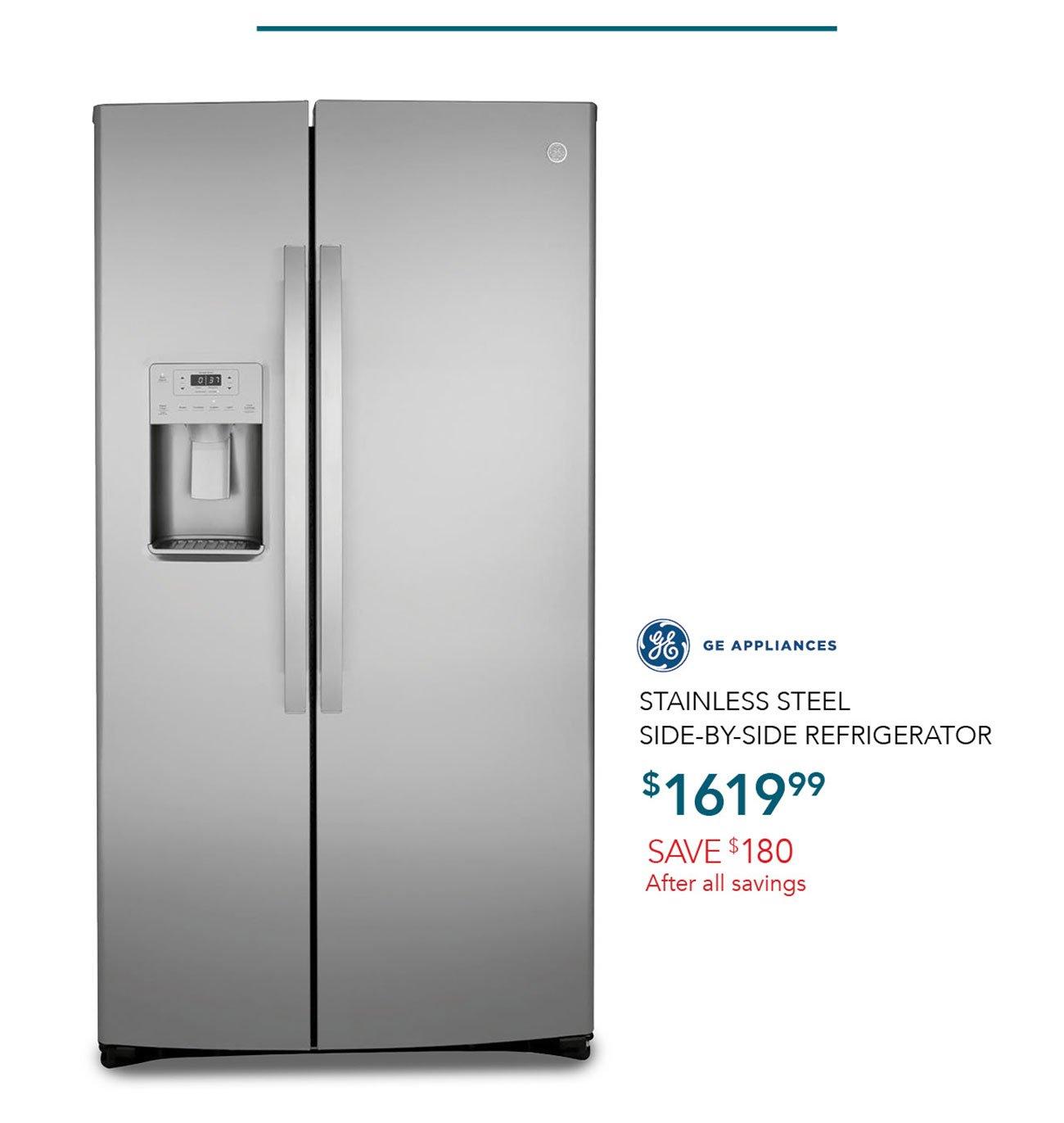 GE-Stainless-steel-refrigerator