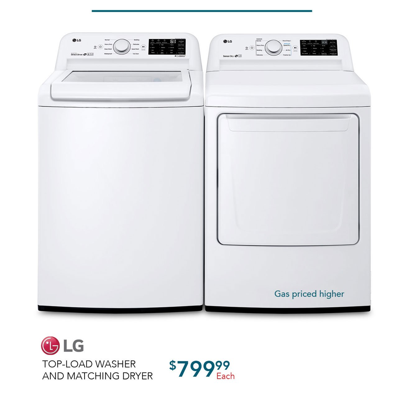 LG-top-load-washer-matching-dryer