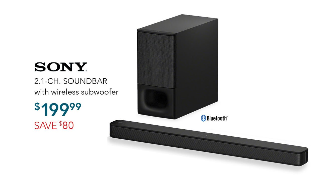 Sony-Soundbar-with-subwoofer