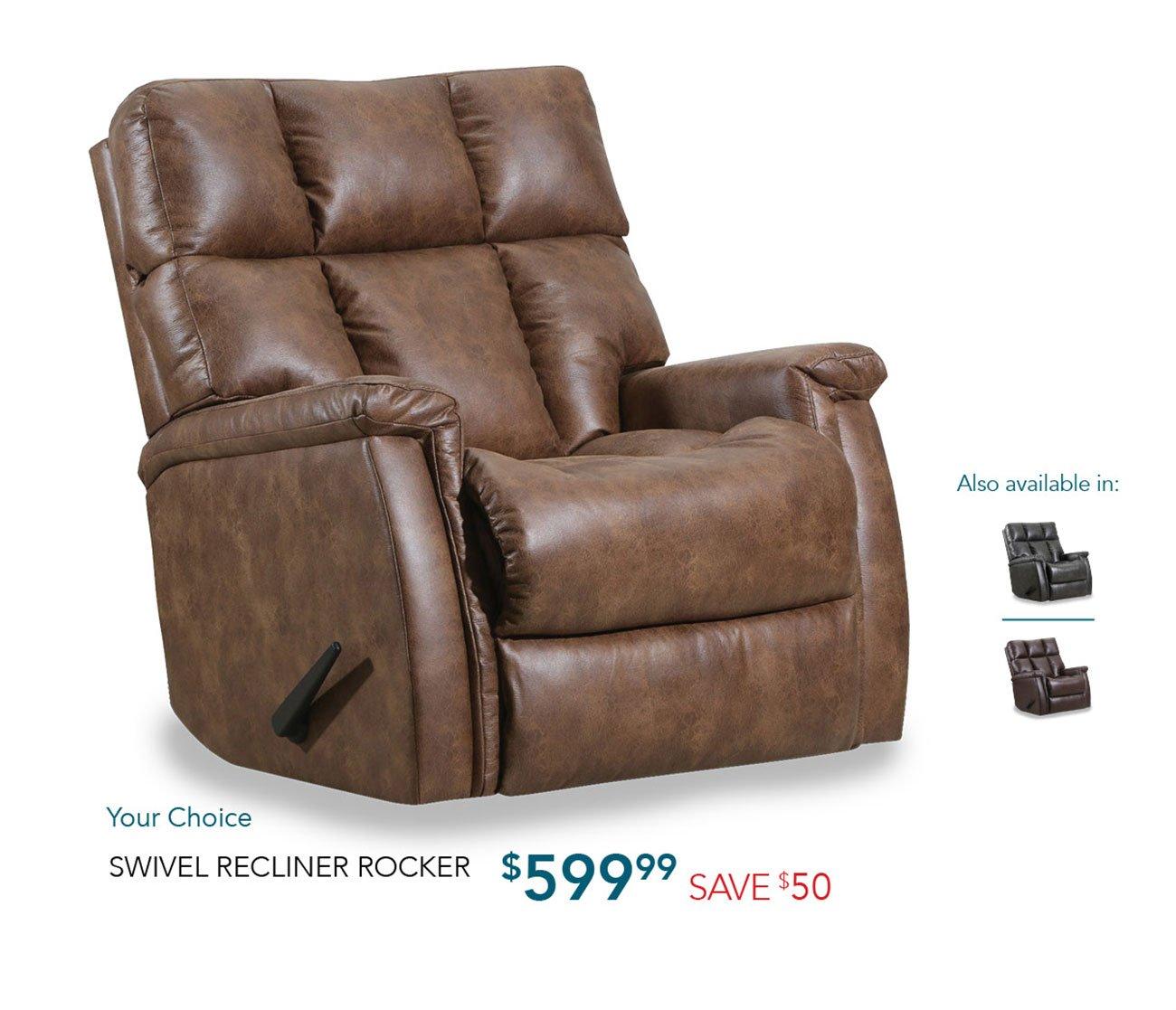Swivel-rocker-recliner