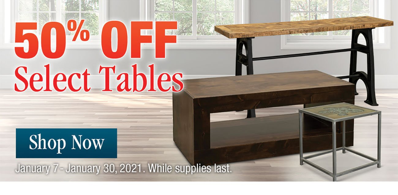 50-Off-Select-Tables-Stripe