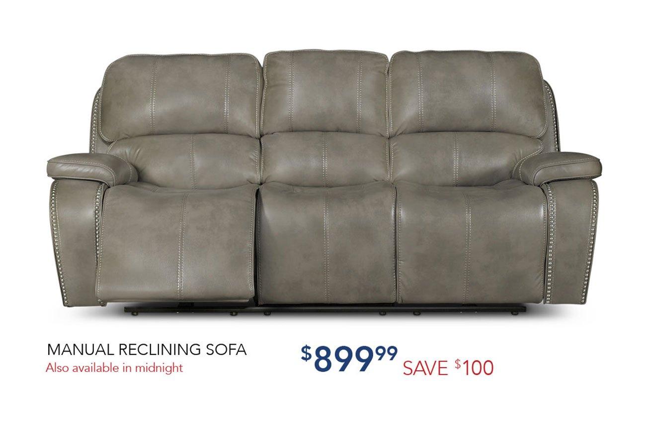 Manual-reclining-sofa