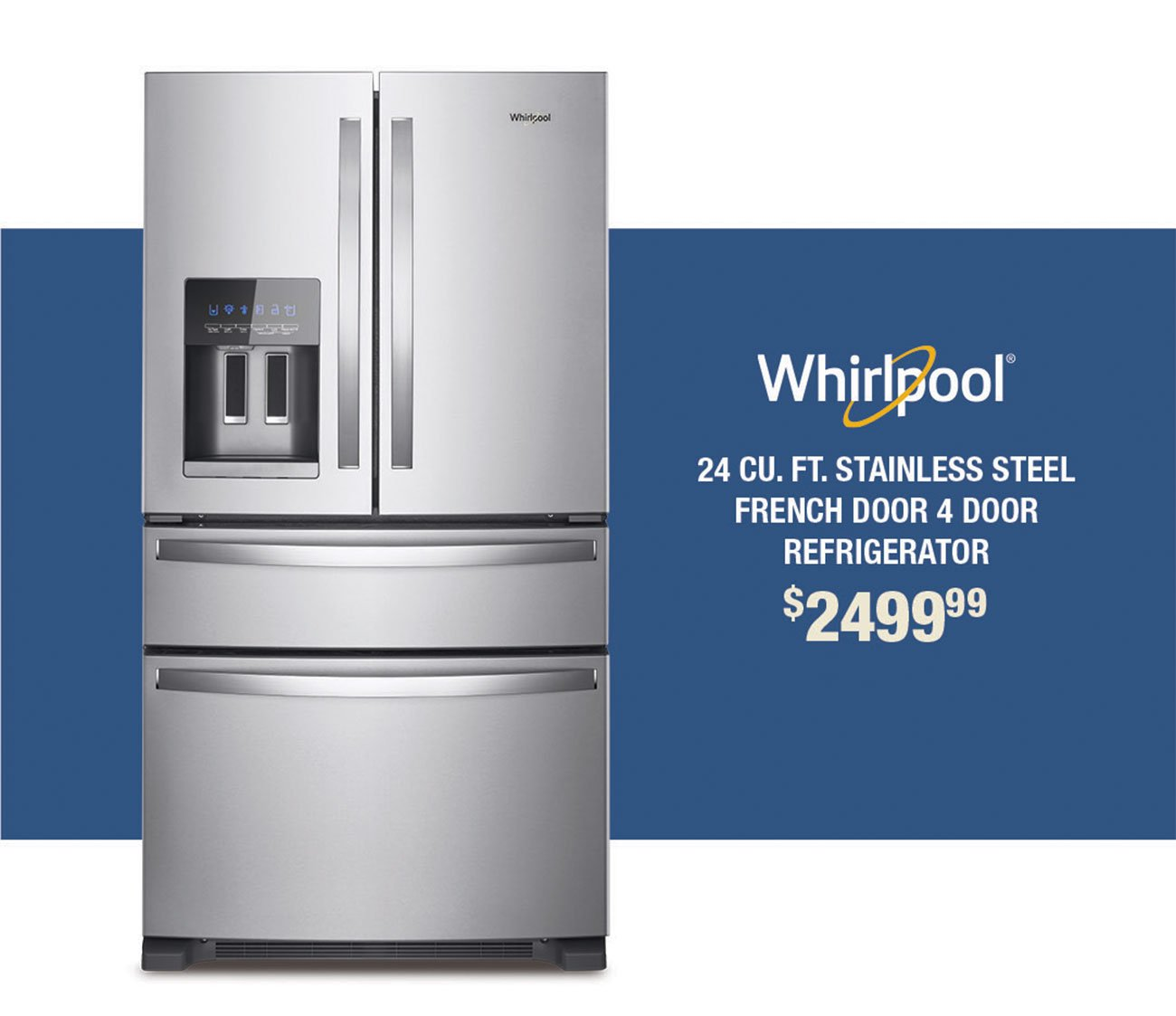 Whirlpool-Stainless-French-Door-Fridge-UIRV