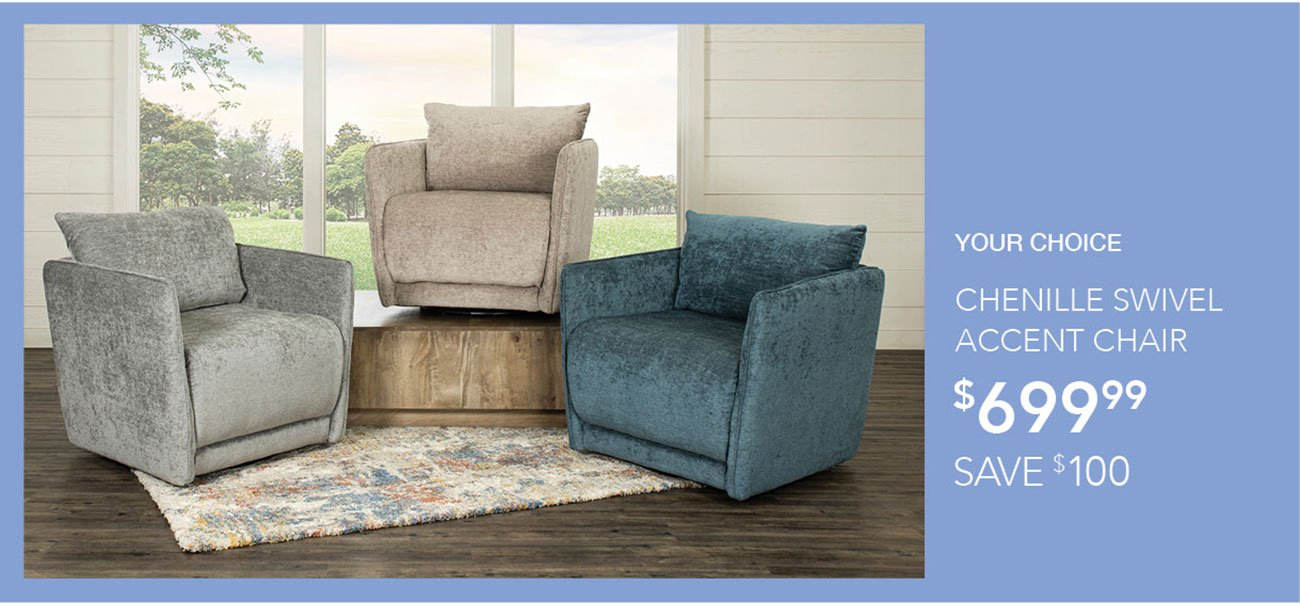 Chenille-swivel-accent-chair