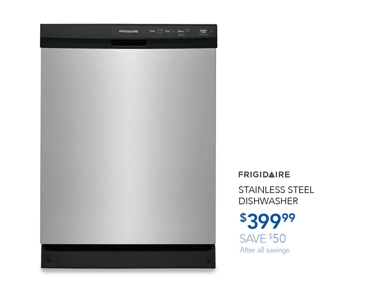 Frigidaire-stainless-steel-dishwasher