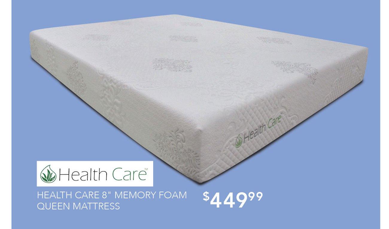 Healthcare-memory-foam-queen-mattress