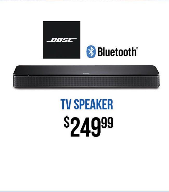 Bose-TV-Speaker
