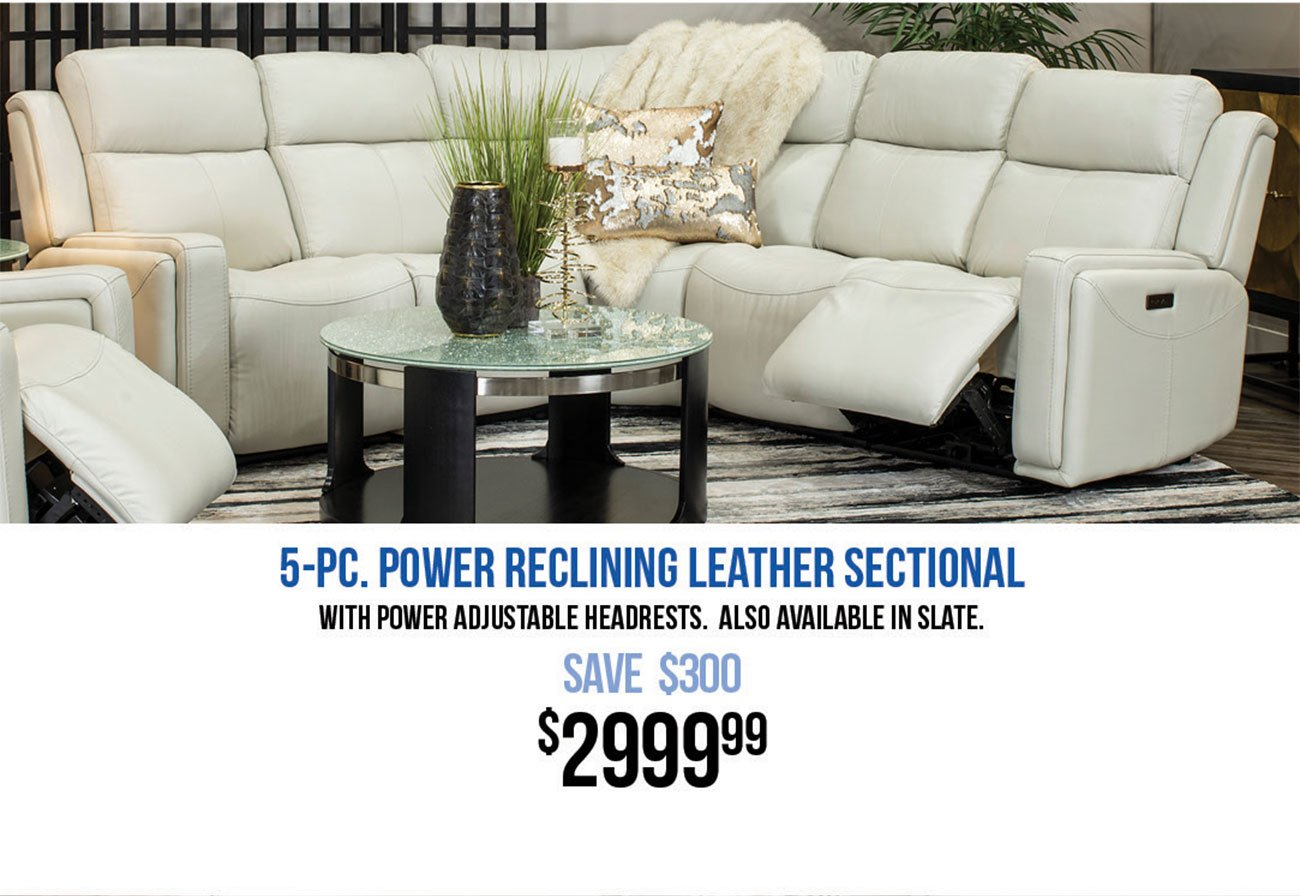 Power-Reclining-White-Leather-Sectional