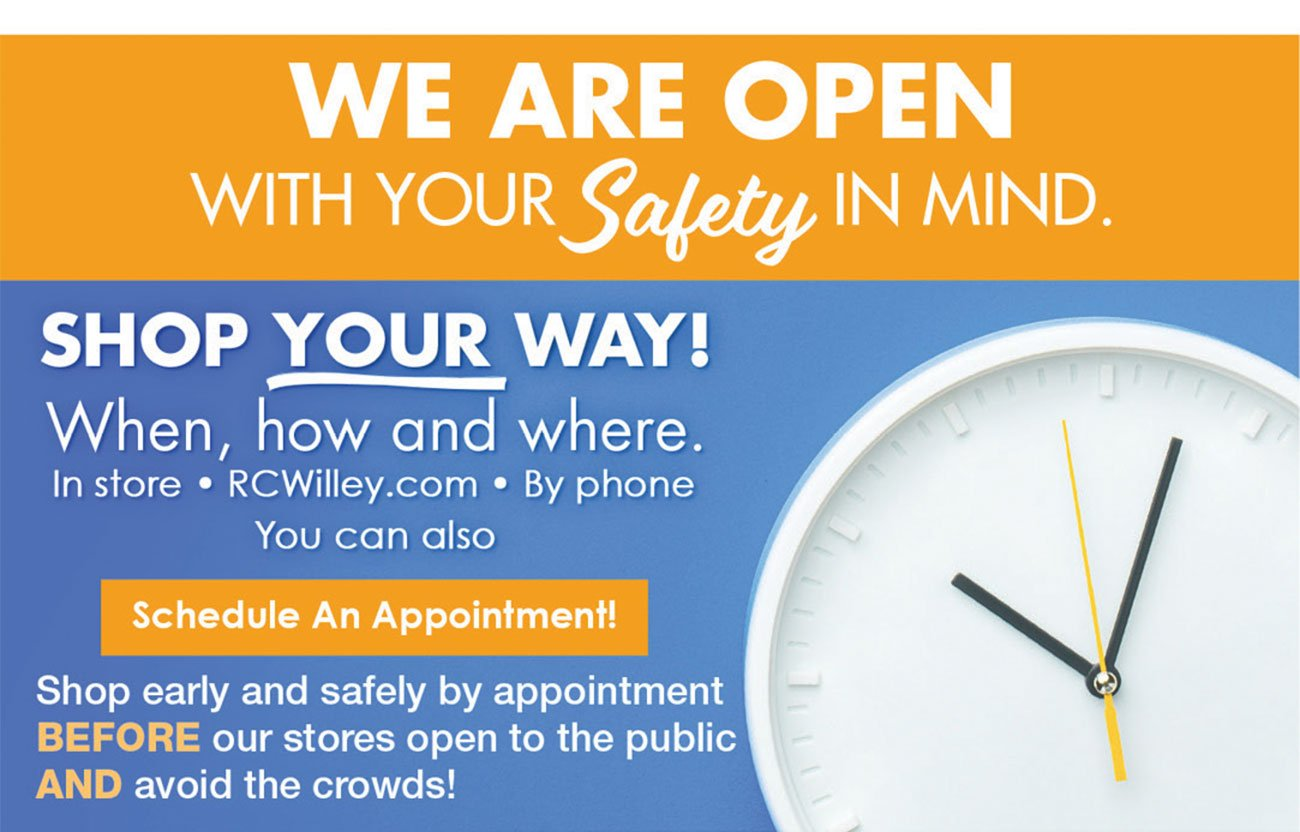 We-Are-Open-Safely-Yellow-Clock-Stripe