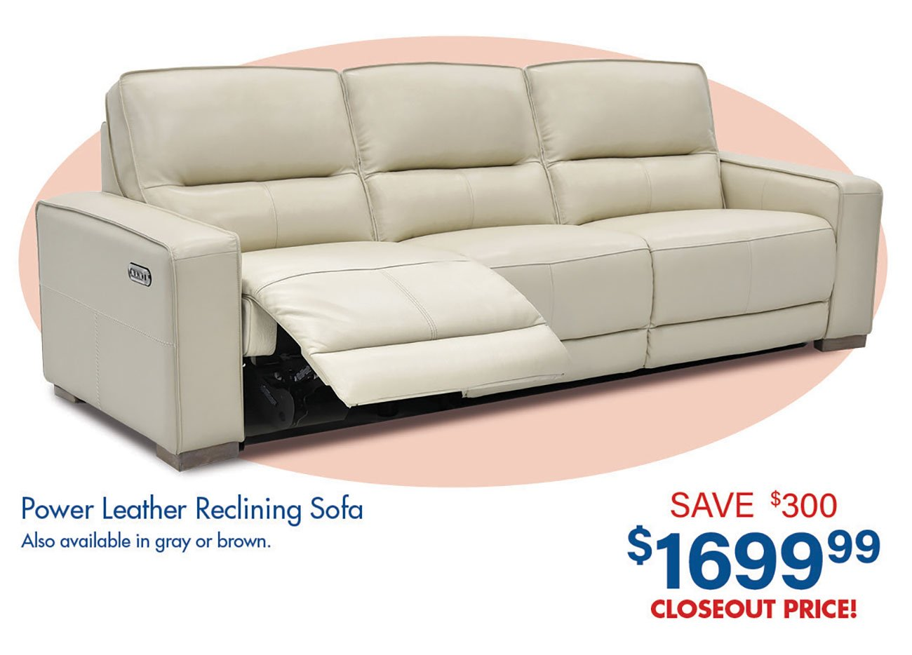 Power-Leather-Reclining-Sofa-White