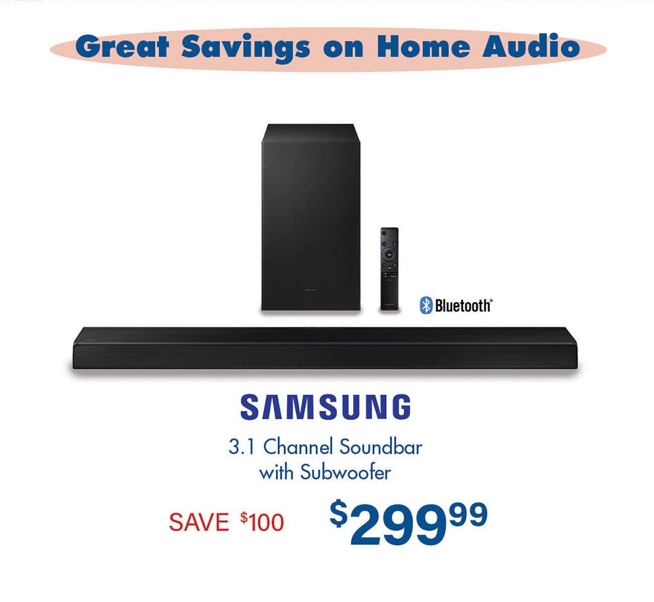 Samsung-Channel-Soundbar-Subwoofer