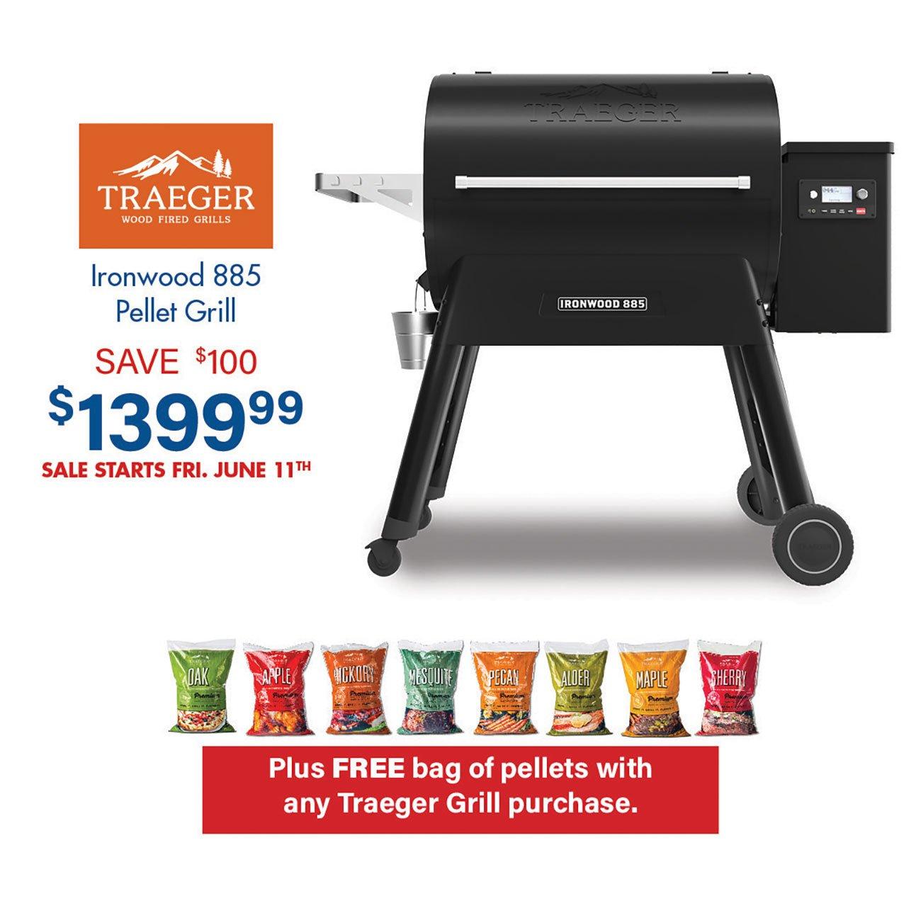 Traeger-Ironwood-885-Pellet-Grill-Black