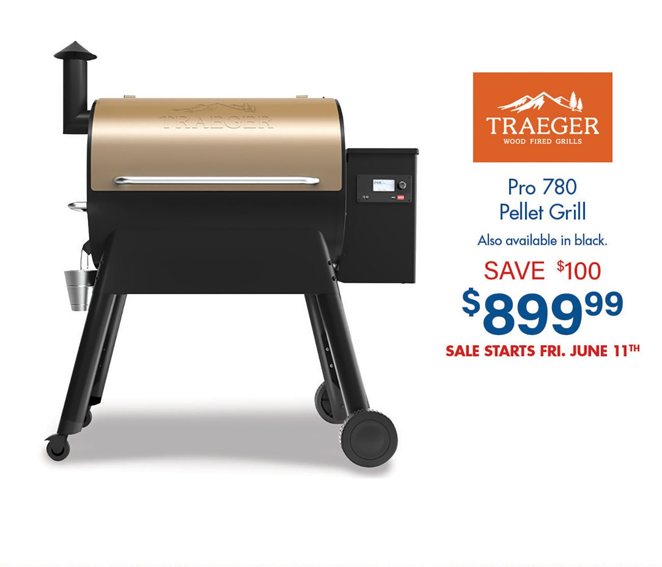 Traeger-Pro-780-Pellet-Grill-Bronze