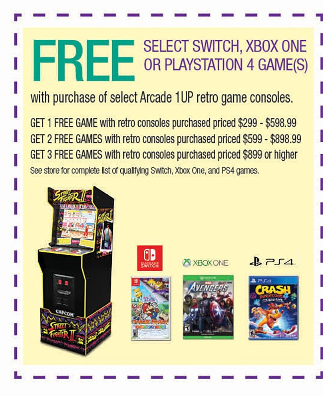 Arcade-1Up-Gaming-Coupon