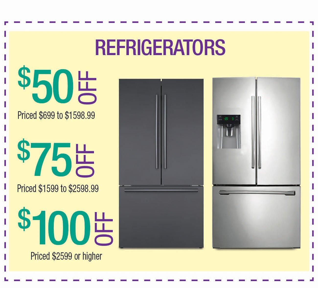 Refrigerator-Coupon