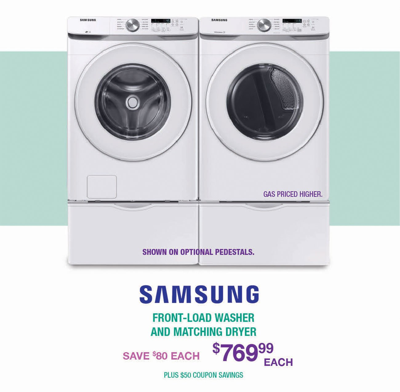 Samsung-Front-Load-Washer-Matching-Dryer-UIRV
