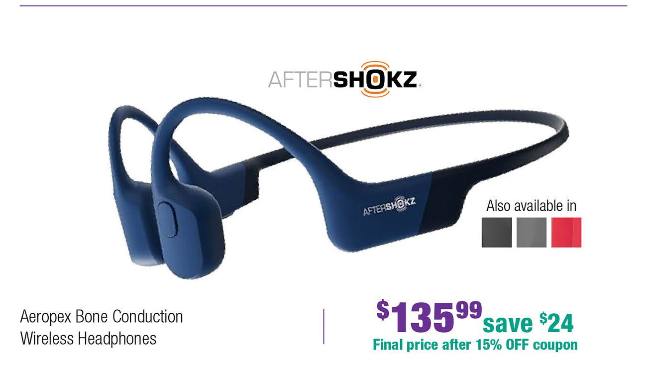 Aftershoks-headphones