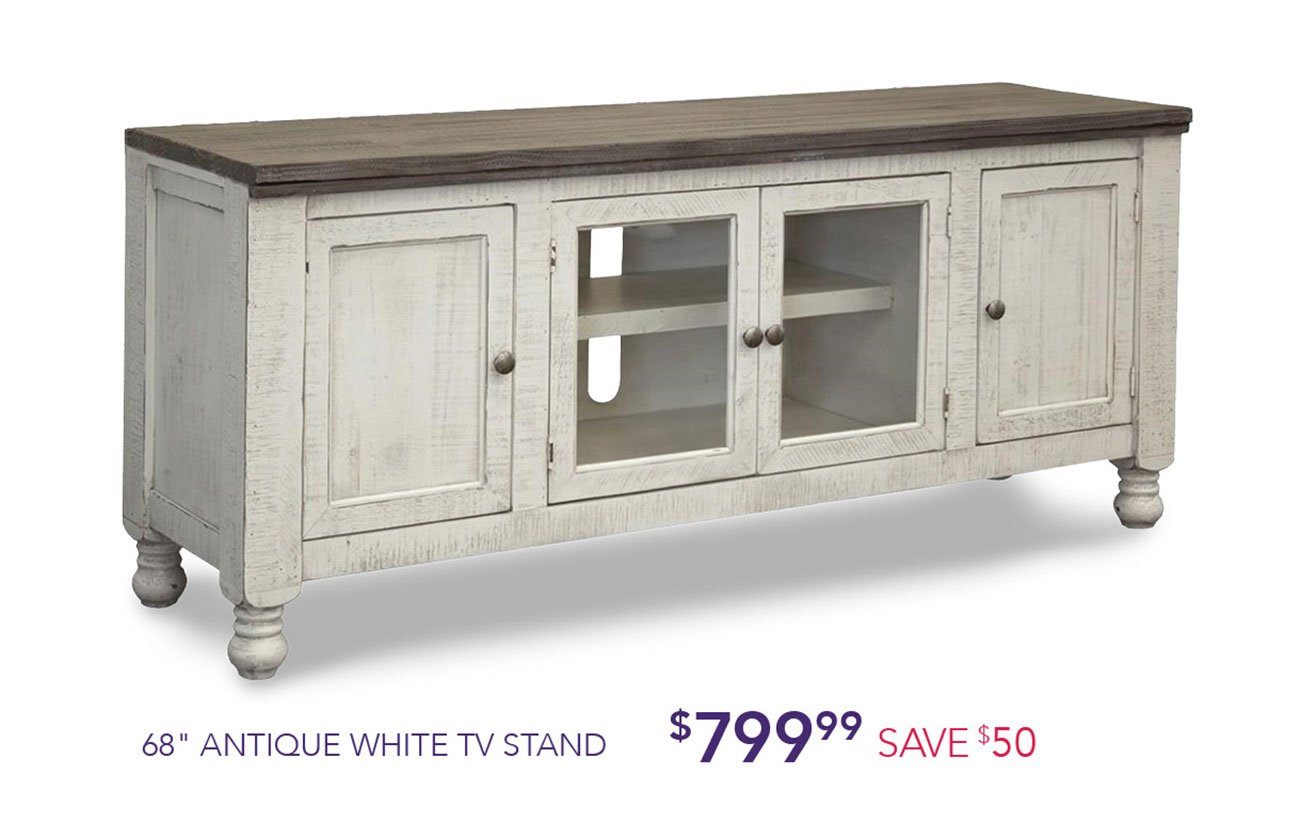 Antique-white-stand