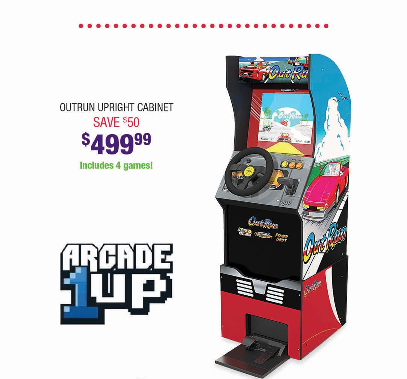 Arcade-1Up-Outrun-Upright-Cabinet
