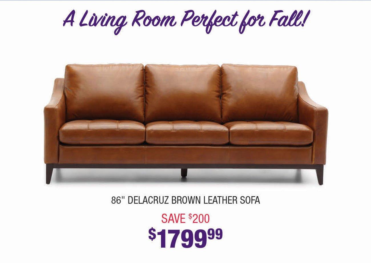 Delacruz-Brown-Leather-Sofa
