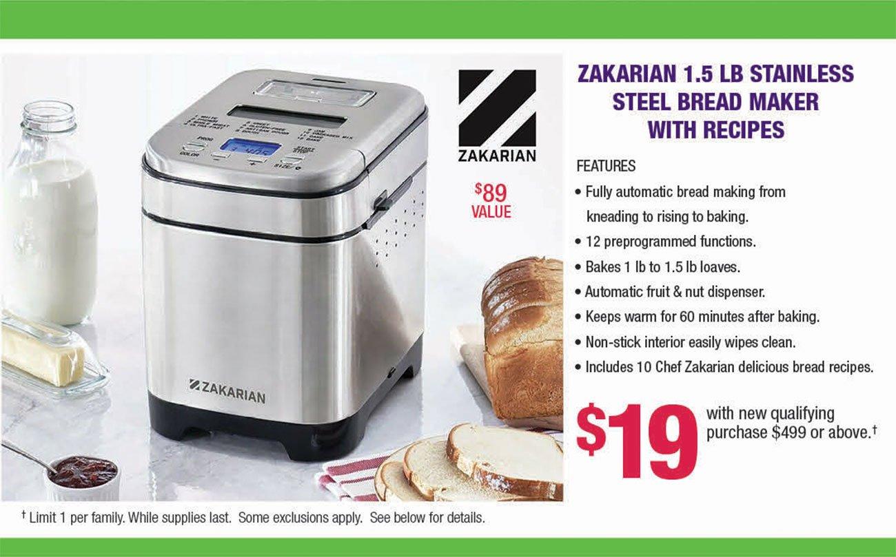Zakarian-Bread-Maker-Premium