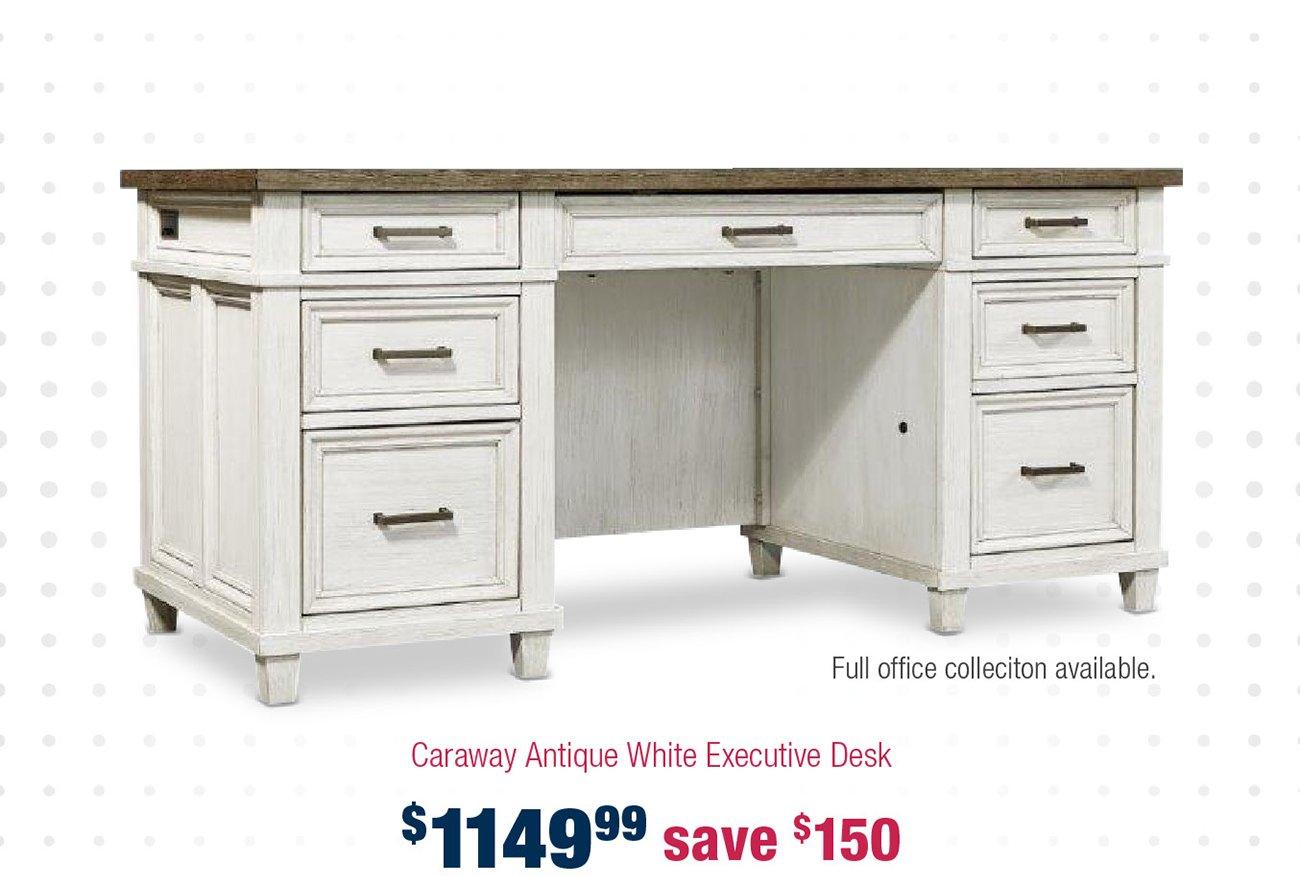 Antique-executive-desk