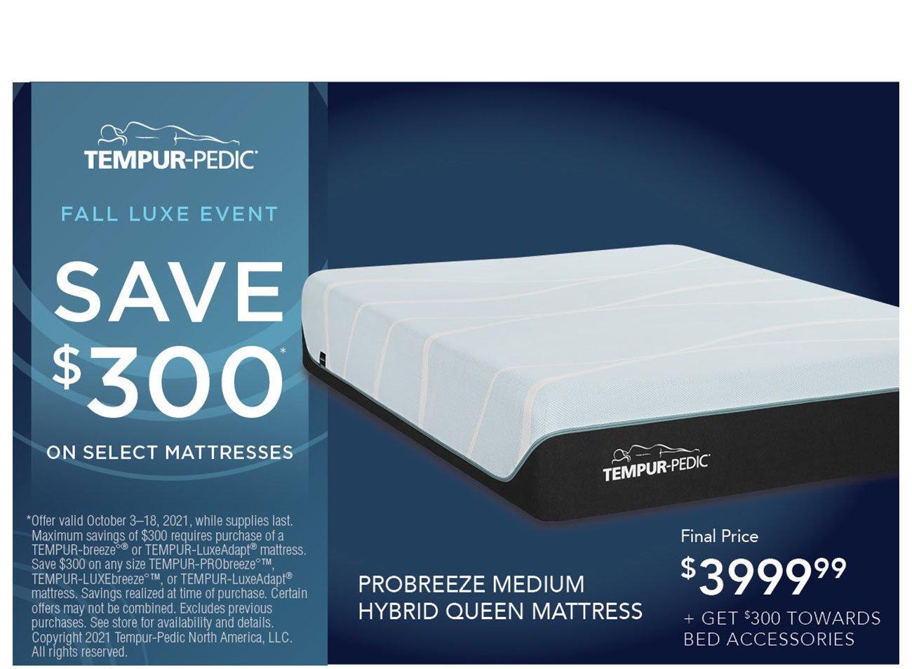 Tempur-pedic-queen-mattress
